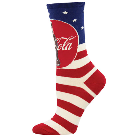 Women's Americana Coca-Cola Socks