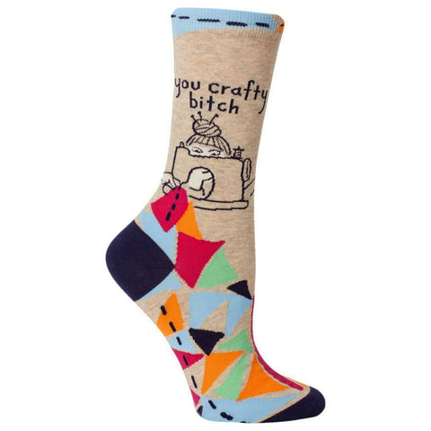 You Crafty Bitch Socks