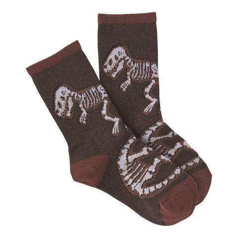 Kids' Dinosaur Bones Socks