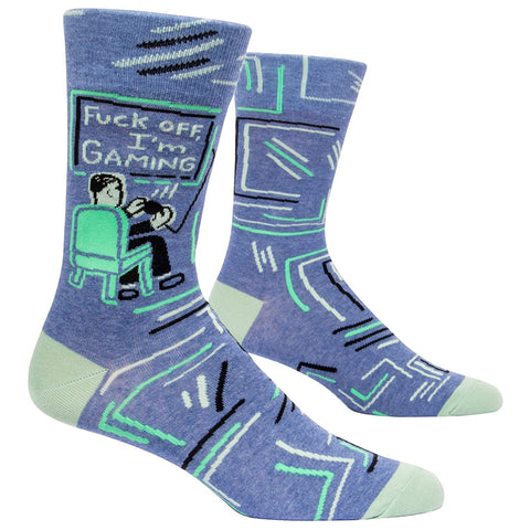 Men's Fuck Off I'm Gaming Socks