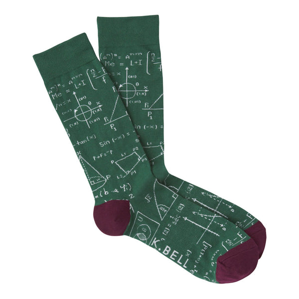 Men's Equations Socks