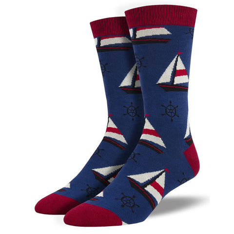 men's sailboat socks