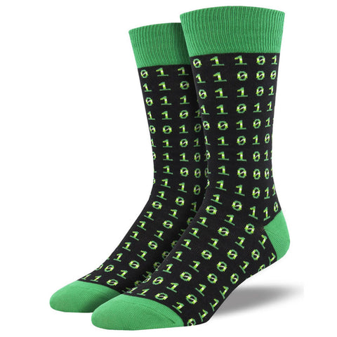 Men's Binary Code Socks