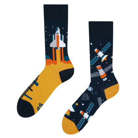 Unisex Space Rocket Socks