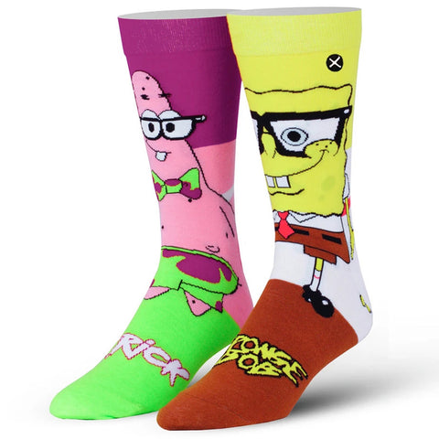 Men's SpongeBob NerdPants Socks