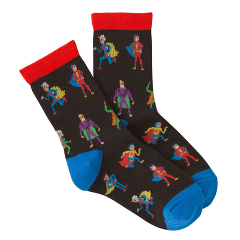 Kids' Superhero Socks