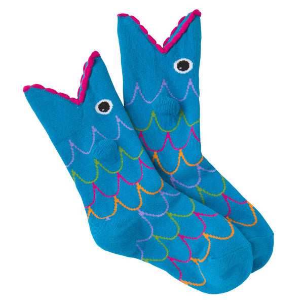 Kids' Wide Mouth Fish Socks