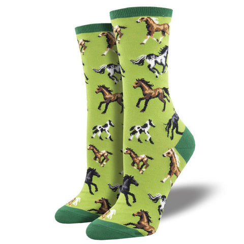 Women's Joyful Horses Socks