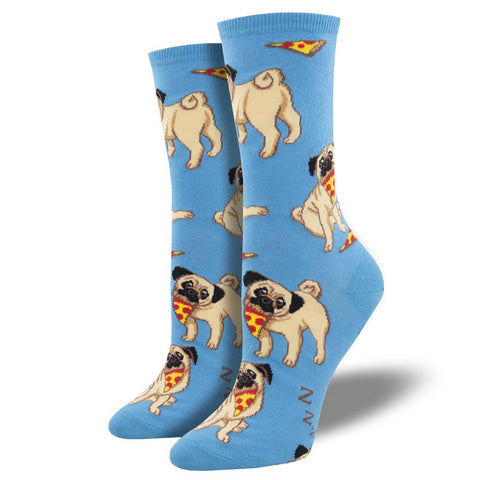 Women's Best Friends Pug Socks