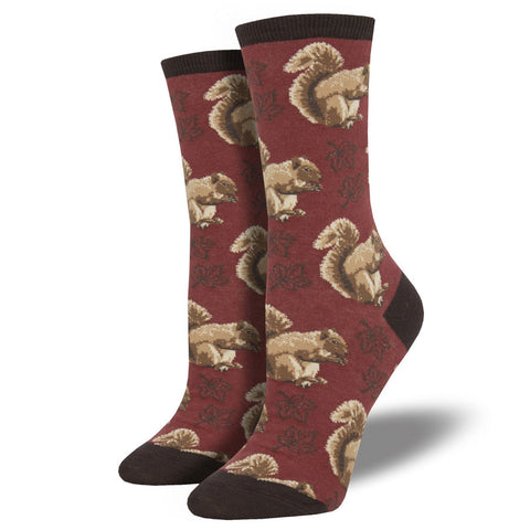 Women's Nuts About Fall Socks