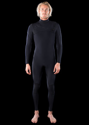 Mens 3/2 Premium Essential Chest Zip Wetsuit