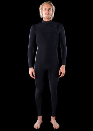 needessentials Wetsuits  premium 4/3 Mens Chest Zip Wetsuit