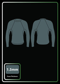 mens 1.5mm premium long sleeve jacket