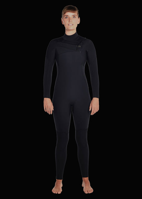 Womens 5/4 Premium Chest Zip Wetsuit