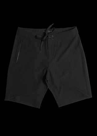 "19"" Black Lightweight Boardshorts"