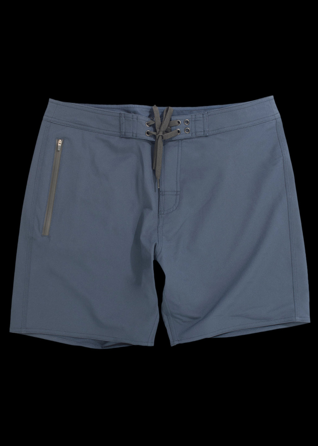 Navy straight leg boardshort