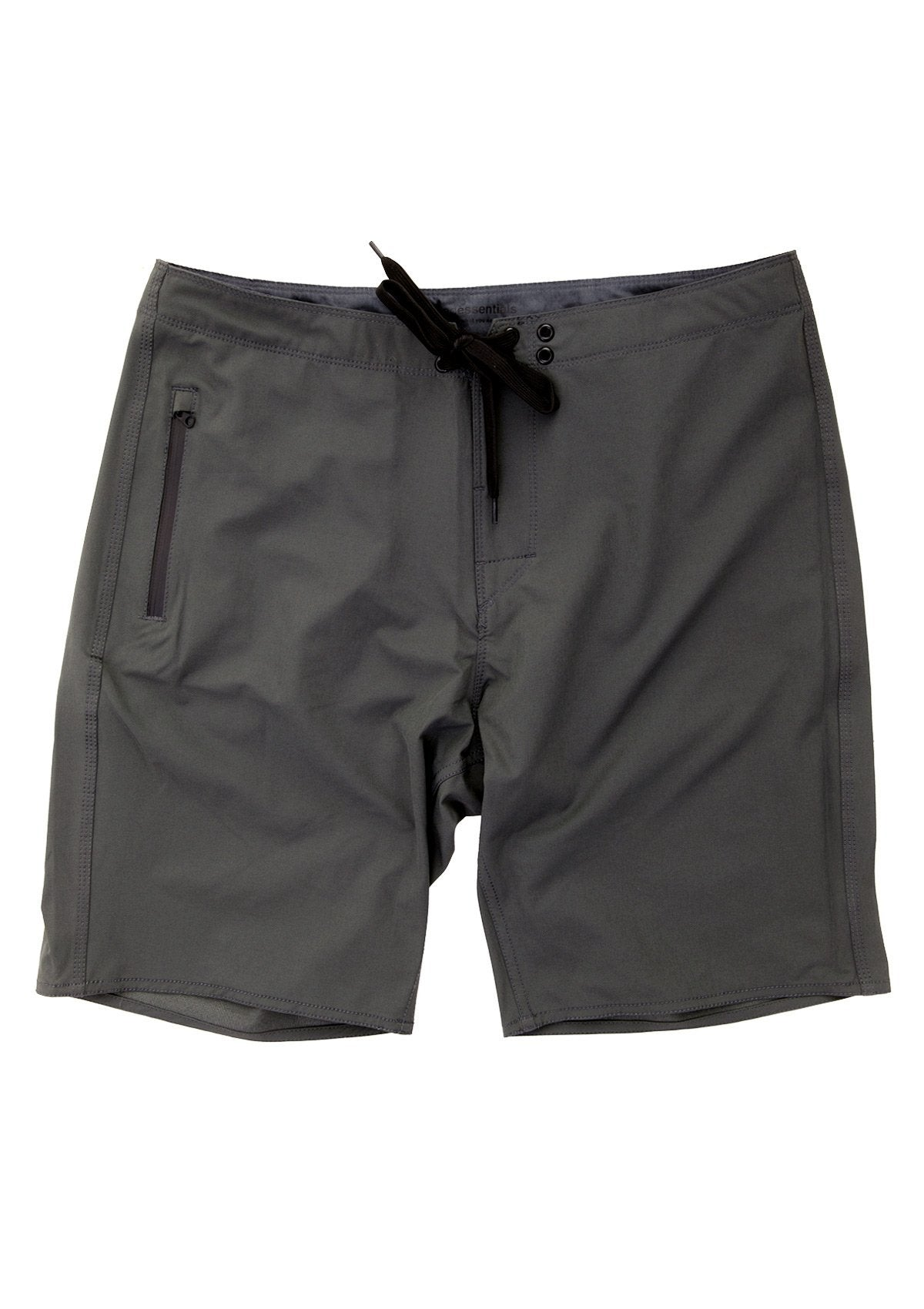 needessentials light weight mens surfing boardshorts non branded dark grey torren martyn