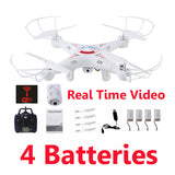 Dron Quadrocopter Drones With Camera HD Profissional Quadcopter Helicopter