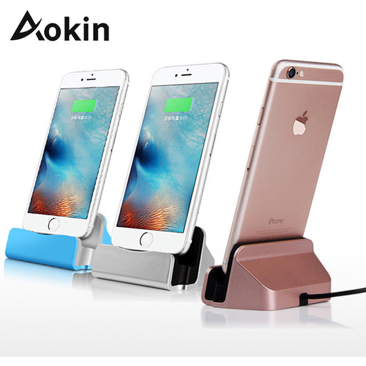 Charger Dock Stand Micro USB Desktop Stand Station Fast Charging For iPhone  Samsung Charging Stand