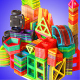 Standard Size Magnetic Building Blocks different types Kids Educational Toys Plastic