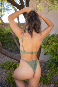 Riviera One-Piece - Olive