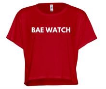 Cropped BAE WATCH Tee