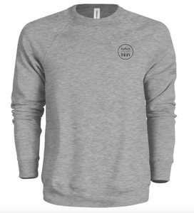 Unisex Logo Crewneck - Grey Heather