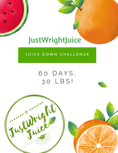 JUICE DOWN CHALLENGE- LOSE 30 POUNDS IN 60 DAYS - JUSTWRIGHTJUICE