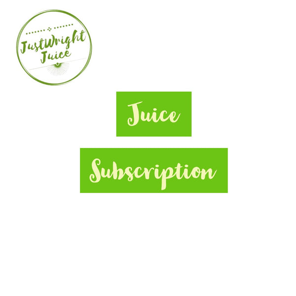 Juice Detox Subscription - JUSTWRIGHTJUICE