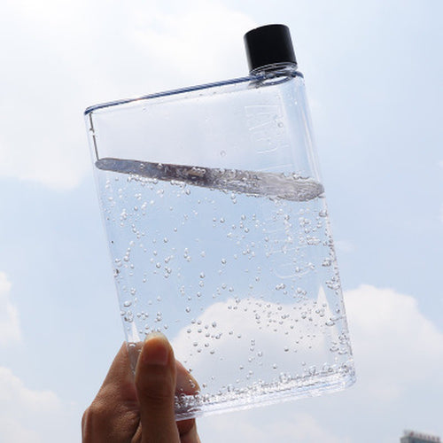 Flat Water Bottle - JUSTWRIGHTJUICE