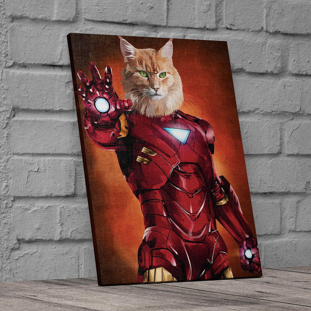 Superhero Custom Canvas Wall Art