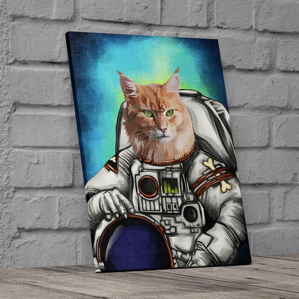 Astronaut Custom Canvas Wall Art