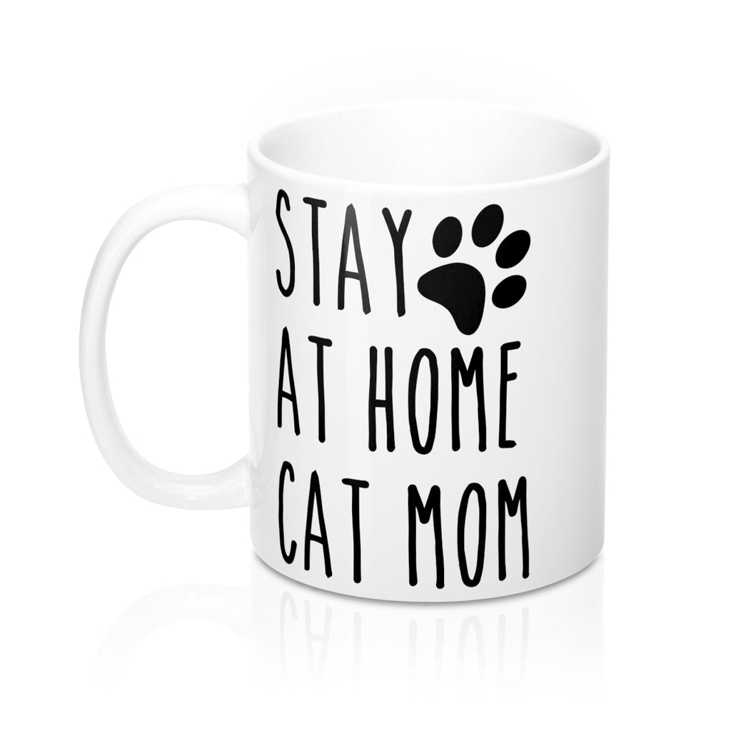 Stay At Home Cat Mom Mug