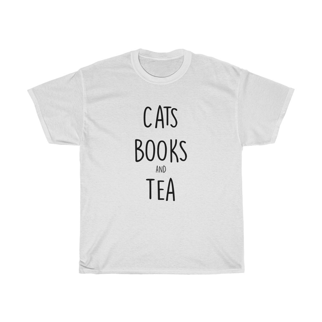 Cats, Books & Tea Cotton Tea