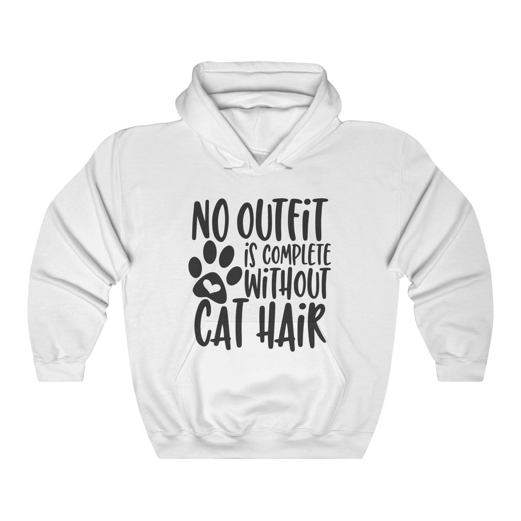 No Outfit Is Complete Without Cat Hair Hooded Sweatshirt