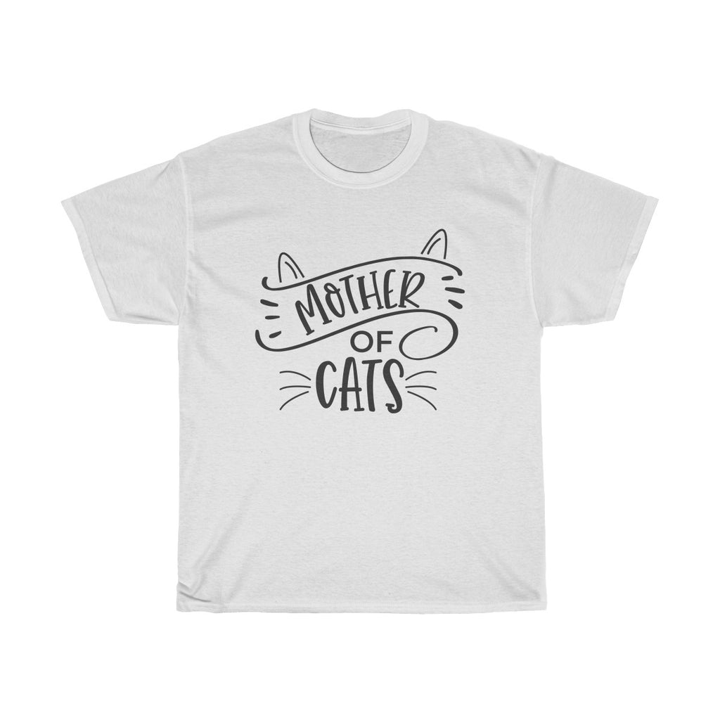 Mother Of Cats Heavy Cotton Tee