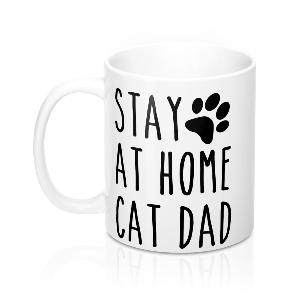 Stay At Home Cat Dad Mug
