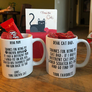 Cat Mom 11 Oz Mug