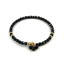 Black Tourmaline Amanda Bangle Bracelet