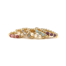 The Danielle Collection of Gold Gemstone Rings