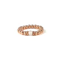 The Danielle Collection of Stackable Rose Gold Gemstone Rings