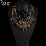 Boho Party Statement Necklace Collar