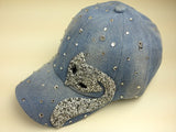 women fashion cotton denim berets caps