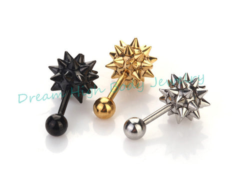 Newest Cone Hammer Stud Earrings