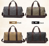 Casual Large Capacity Canvas Travel Bag for Men