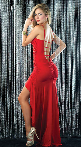 Women backless Club Evening Dress