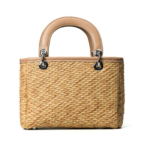 Women Luxury High quality Straw Bag