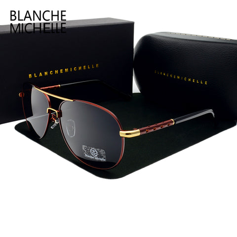 New Hot High Quality brand designer Polarized Sunglasses