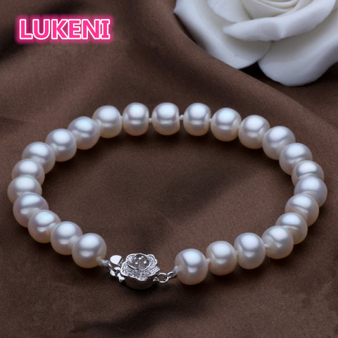 Natural Pearl Fashion Sterling silver bracelet