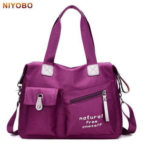 Casual Nylon Lady Tote Large Capacity Luggage Bag